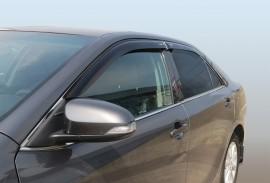 Дефлекторы окон Toyota Camry VII 2011- седан (накладные)