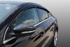 Дефлекторы окон Volkswagen Passat CC II 2012- седан (накладные) Azard