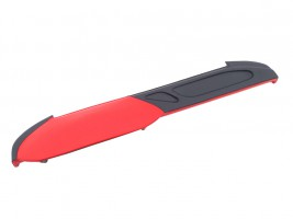 Накладка на торпеду ВАЗ 2105 (красно-черная)