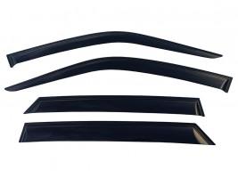 Дефлекторы окон Ford Focus III 2011- хетчбек (накладные)