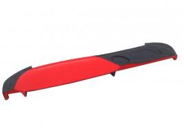 Накладка на торпеду ВАЗ 2107 (красно-черная)