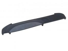 Накладка на торпеду ВАЗ 2107 (серо-черная)