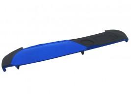 Накладка на торпеду ВАЗ 2107 (сине-черная)
