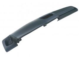 Накладка на торпеду ВАЗ 2108, 2109, 21099 (высокая) (серо-черная)