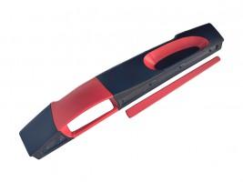 Накладка на торпеду ВАЗ 2108, 2109, 21099 (низкая) (красно-черная)