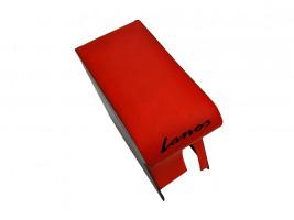 Подлокотник для Daewoo Lanos (красный с надписью)