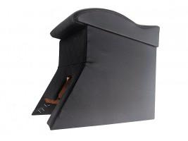 Подлокотник для Daewoo Lanos волна (черный, ромб)
