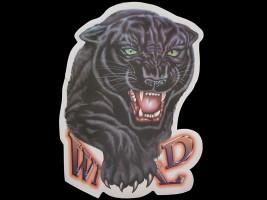 Наклейка на автомобиль Звери - Пантера Wild, цветная (h=250 мм, l=330 мм)
