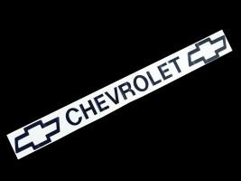 Наклейка на автомобиль (заднее стекло) Chevrolet, черная (h=75 мм, l=700 мм)