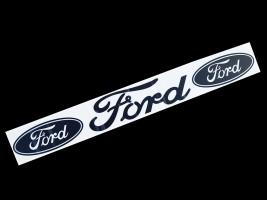 Наклейка на автомобиль (заднее стекло) Ford, черная (h=100 мм, l=700 мм)