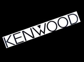 Украина Наклейка на автомобиль (заднее стекло) Kenwood, черная (h=110 мм, l=700 мм)