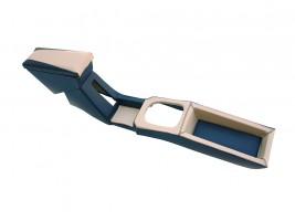 Подлокотник-бар ВАЗ 2108, 2109, 21099 с накладкой тунеля (хребтом) КПП (бежевый)