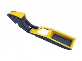 Подлокотник-бар ВАЗ 2108, 2109, 21099 с накладкой тунеля (хребтом) КПП (желтый) Украина