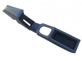 Подлокотник-бар ВАЗ 2108, 2109, 21099 с накладкой туннеля (хребтом) КПП (серый) Украина