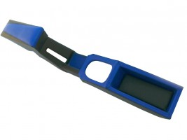 Подлокотник-бар ВАЗ 2108, 2109, 21099 с накладкой туннеля (хребтом) КПП (синий) Украина