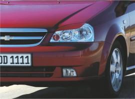 Реснички на фары Chevrolet Lacetti sedan №1 Spirit