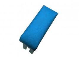 Подлокотник для ВАЗ 2105, 2107 (шире чем 2101) (синий, ромб)