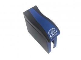 Подлокотник для ВАЗ 2105, 2107 (шире чем 2101) (синий) (волна)