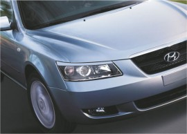 Реснички на фары Hyundai Sonata NF 2005-2010 Spirit