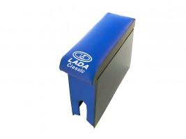 Подлокотник для ВАЗ 2105, 2107 (шире чем 2101) (синий)
