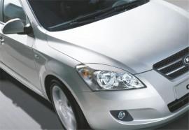 Реснички на фары Kia Ceed 2007- №1 Spirit