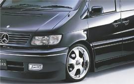 Реснички на фары Mercedes-Benz Vito (W638) 1996-2003 Spirit