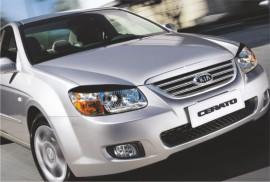 Реснички на фары Kia Cerato 2006-2008 №1 Spirit