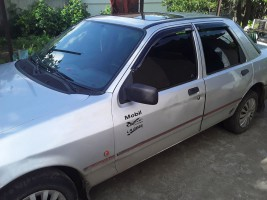 Дефлекторы окон Ford Sierra 1982-1993 5d sedan / hatchback (на скотче) AV-Tuning