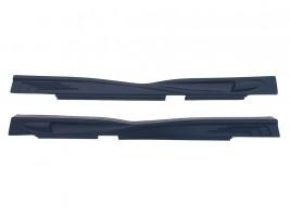 """Накладки на пороги ВАЗ 2101-2107 """"Racer GT"""" (стрелы) (гладкий)"""