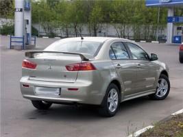 "Orticar Спойлер Mitsubishi Lancer X ""Завод"" стеклопластик (под покраску)"