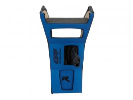 Консоль под магнитолу ВАЗ 2103, 2106 (синяя) Autoelement