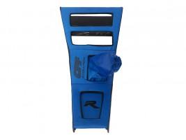 Консоль под магнитолу ВАЗ 2101, 2102 (синяя) Autoelement