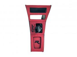 Консоль под магнитолу ВАЗ 2101, 2102 (красная) Autoelement