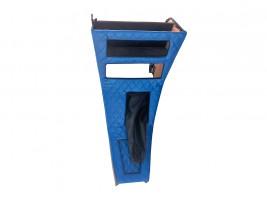 Консоль под магнитолу ВАЗ 2101, 2102 ромб (синяя) Autoelement