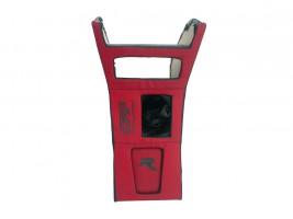 Консоль под магнитолу ВАЗ 2103, 2106 (красная) Autoelement