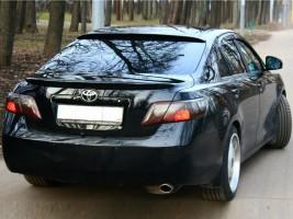 """Orticar Спойлер Toyota Camry XV40 2006-2011 """"Лип"""" стеклопластик (под покраску)"""