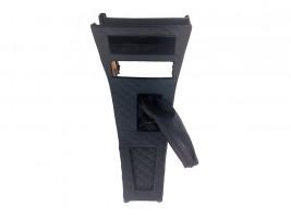 Консоль под магнитолу ВАЗ 2101, 2102 ромб (черная)