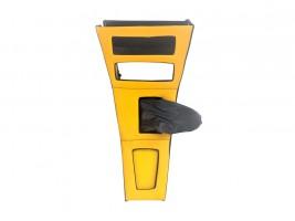 Консоль под магнитолу ВАЗ 2101, 2102 (желтая) Autoelement