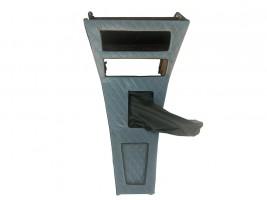 Консоль под магнитолу ВАЗ 2101, 2102 ромб (серая) Autoelement