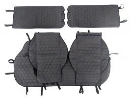 Чехлы автомобильные майки универсальные LUX (соты) комплект