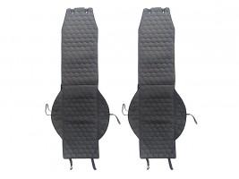 Чехлы автомобильные майки универсальные LUX (соты) (на передние сиденья)