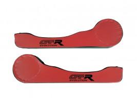 Карманы дверные ВАЗ 2101, 2102, 2103, 2104, 2105, 2106, 2107, 2121 D16 (красно-черные) Autoelement