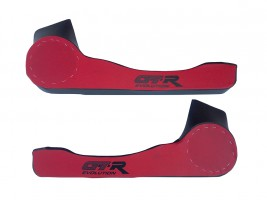 Карманы дверные ВАЗ 2108, 2109, 21099 D16 (красно-черные)