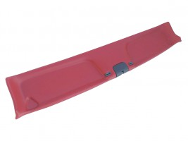 Накладка травмобезопасности (надлобник) ВАЗ 2101, 2102, 2103, 2104, 2105, 2106, 2107 (красная)