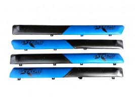 """Autoelement Накладки дверные """"батоны"""" ВАЗ 2101, 2102, 2103, 2104, 2105, 2106, 2107 (сине-черные)"""