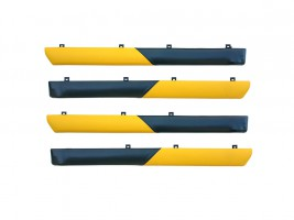 """Autoelement Накладки дверные """"батоны"""" ВАЗ 2101, 2102, 2103, 2104, 2105, 2106, 2107 (желто-черные)"""