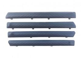 """Autoelement Накладки дверные """"батоны"""" ВАЗ 2101, 2102, 2103, 2104, 2105, 2106, 2107 ромб (серые)"""
