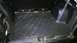 Ковер багажника Mitsubishi Outlander XL (с сабвуфером) 2007- L.Locker
