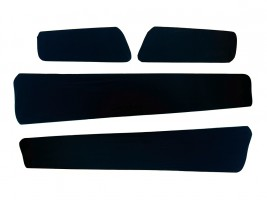 Вставки в карты дверей ВАЗ 2108 (черные) Украина