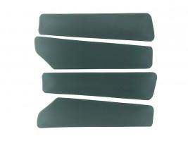 Вставки в карты дверей ВАЗ 2109 (зеленые)